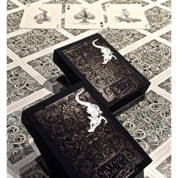 Black Gatorbacks now available at: http://www.playingcards4magic.com/
