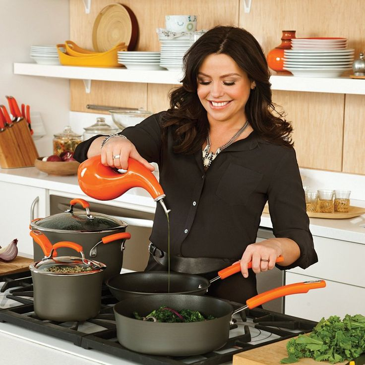 Rachael Ray Hard Anodized II Nonstick 14-Inch pan is one brand among the best nonstick cookware that makes cooking an easy and enjoyable affair. It has several features that make it stand out amongst others as well. It boasts of durability, beauty, and reliability. For more info, visit: http://www.homekitchenaid.com/best-nonstick-cookware/