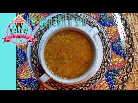 Ezogelin Çorbası Nasıl Yapılır? - Kekevi Yemek Tarifleri - YouTube