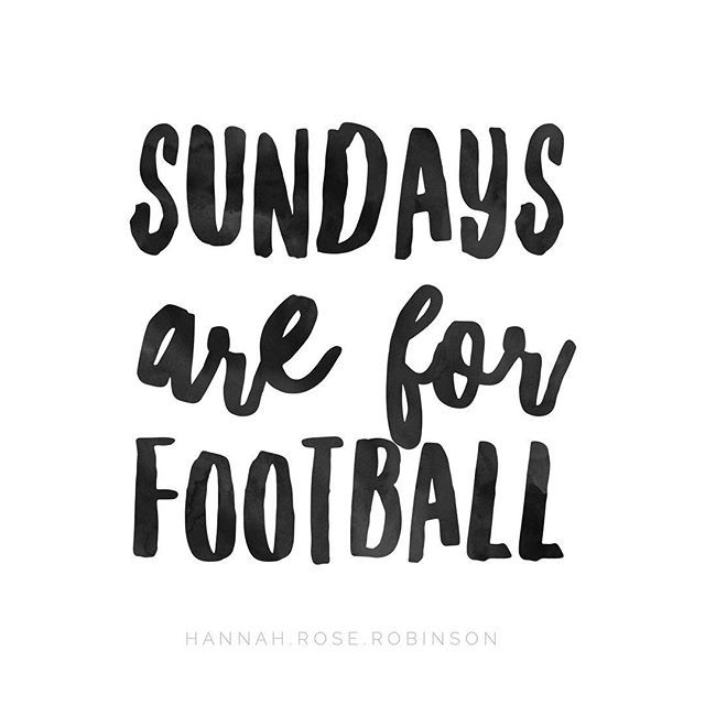 Sunday quotes || Football quotes || hannahrosefitness.com