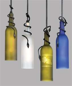 DIY: How to Cut Glass Bottles for Use in Other Projects | Apartment DIY wine bottle lamps