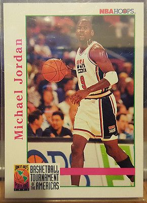 #Michael #jordan 1992 nba hoops #basketball tournament of the americas card #341,  View more on the LINK: http://www.zeppy.io/product/gb/2/172379488248/