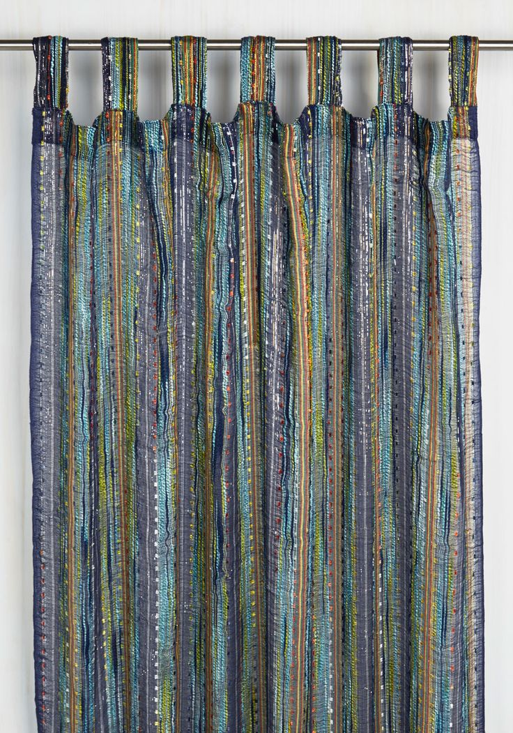 Zeal at Home Curtain. If youre comforted by color and dazzling design, then this single panel curtain by Karma Living will warm your hearth! #multi #modcloth