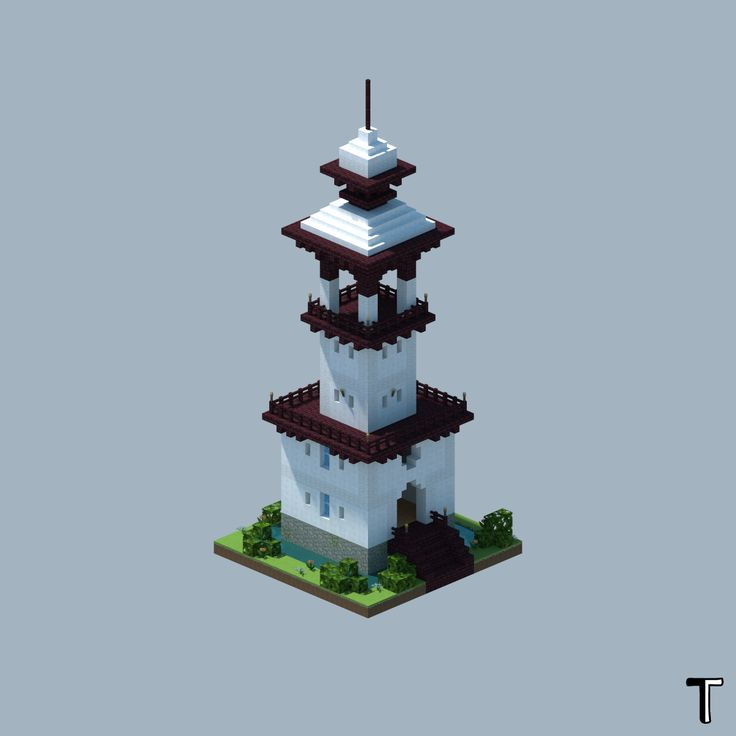 My one-chunk homage to MCNoodlor and Lapsefractal : Minecraft