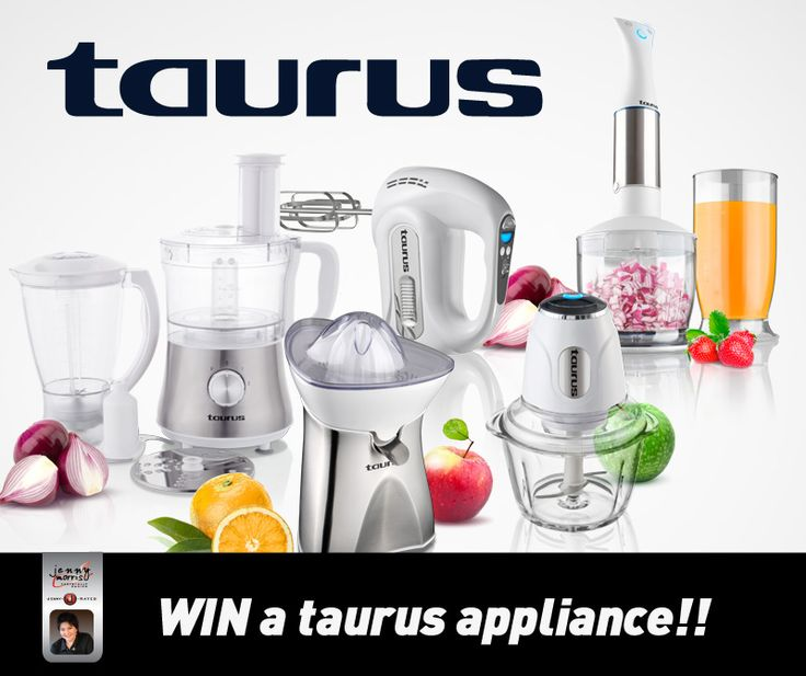 South Africans love to braai on Heritage Day! Tell us what you are making for your loved ones on Braai Day with the help of a Taurus Appliance. Win a Taurus appliance of your choice to the value of R1000-00. The most creative and delicious recipe wins. Winner will be announced on Heritage Day , Thursday 24 September 2015.  Click on our link below to enter: https://www.facebook.com/Taurus-Appliances-353610868182162/timeline/