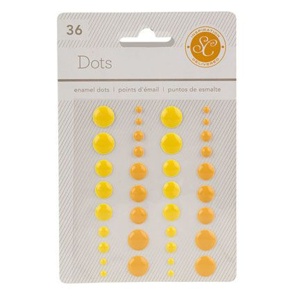 These cute enamel dots are perfect for adding a pop of decoration to your planner.