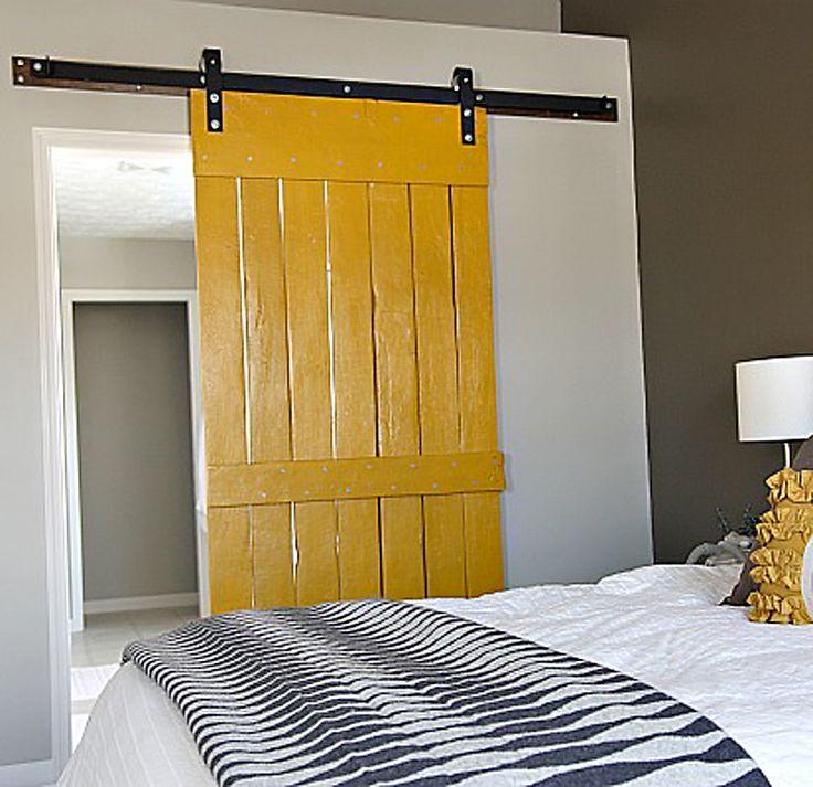 diy sliding barn door . The full instructions to DIY