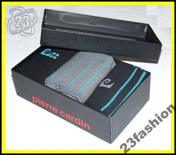 Skarpetki męskie Pierre Cardin pudełko, na prez