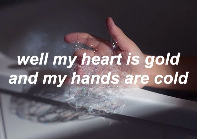 gasoline // halsey I don't really like the actual song but this part is rly good