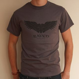 The Raven - Charcoal T-shirt | Last Exit to Nowhere