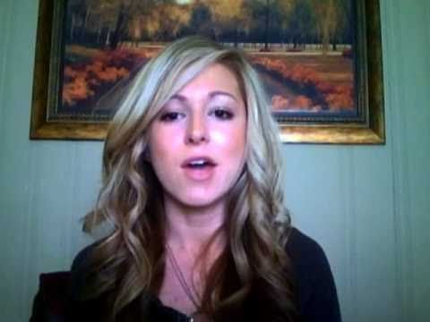 How to: use a marcel curling iron/ hair tutorial. Start at 3:45, there is a lot of chit chat at the beginning ;)