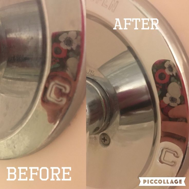 how to clean hard water stains on stainless steel