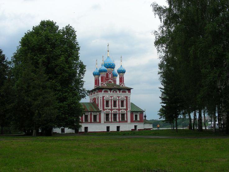 Church of the Dmitry, Uglich