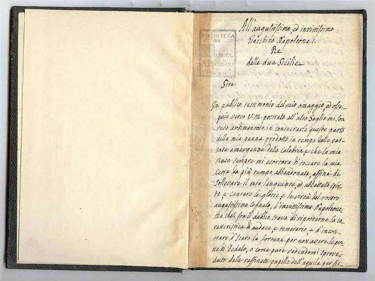 1800 Original Manuscript Poem to Napoleon written during the Italian Campaign