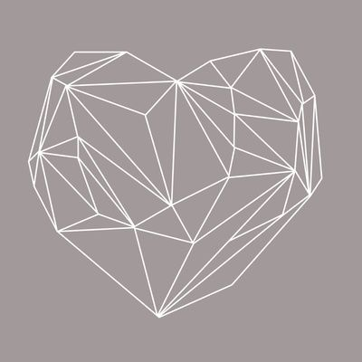 Heart Graphic Art Print by Mareike Böhmer Graphics on society 6