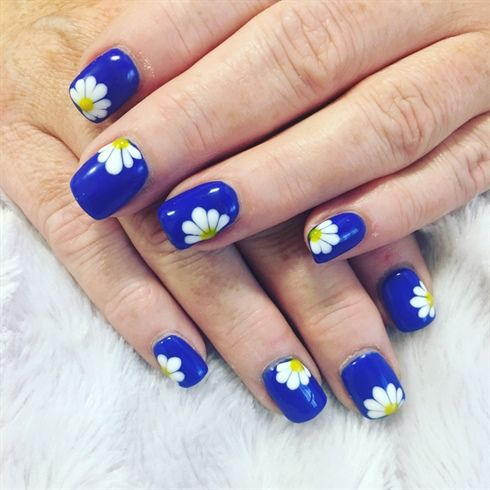 Nails By Mia by miasnails from Nail Art Gallery - 655 Best Flower Nail Art Images On Pinterest Floral Nail Art
