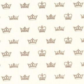 Michael Miller Send in the Crowns (Linen)