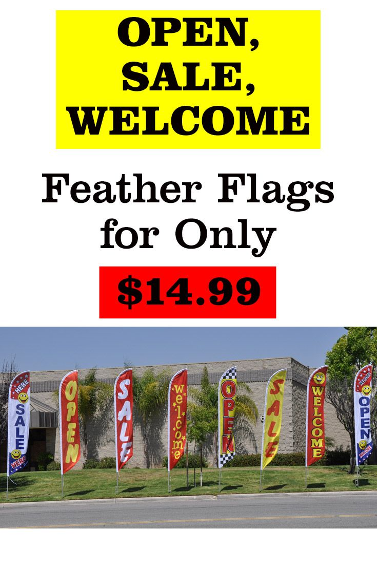 Stock Feather Flags Swooper Flutter Flags Windless Flag Feather Flags Flag Feather