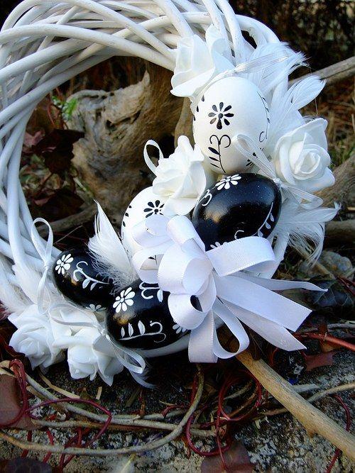 Velikonoční věnec - Tradičně, klasicky
