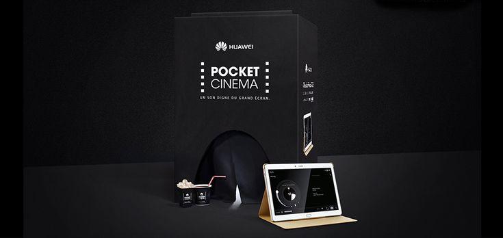 AVEC LE «POCKET CINEMA», HUAWEI PRESENTE LE MEDIAPAD M2 : UNE TABLETTE AVEC UN SON DIGNE DU GRAND ECRAN.  Le Mediapad M2 est la nouvelle innovation technologique de Huawei, troisième constructeur mondial de smartphones. Conçue en partenariat avec le leader mondial du secteur de l'audio, la tablette offre une qualité de son incomparable grâce à ses quatre enceintes Harman/Kardon qui assurent une qualité de musique et un effet stéréo optimaux.
