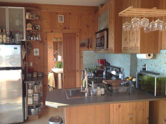 Kristen's Very Zen Kitchen Small Cool Kitchens 2013