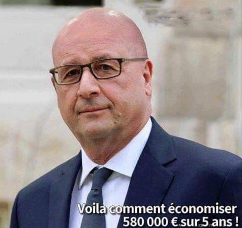 (source : Twitter) Rappel : Le coiffeur de François Hollande a un salaire… de…
