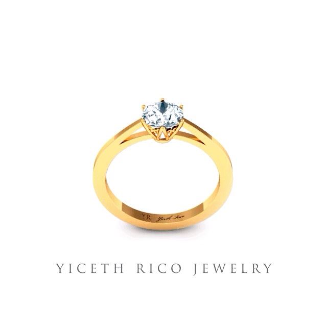 Gold Ring www.yicethrico.com