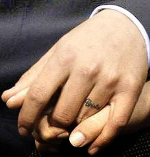 wedding ring tattoos for men - Google Search | Josh | Pinterest ...