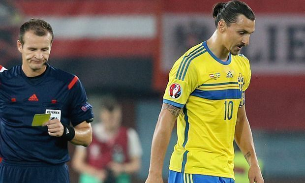 Eliminacje euro 2016 • Austria vs Szwecja • Brutalny faul Zlatana Ibrahimovicia • David Alaba uderzony łokciem przez Ibrę • Zobacz >>