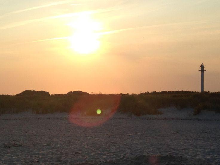 Sun at Bornholm