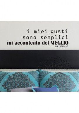Wall sticker - Oscar Wilde BUY IT NOW ON www.dezzy.it!