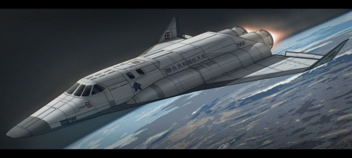 Agni V Space Shuttle by AdamKop
