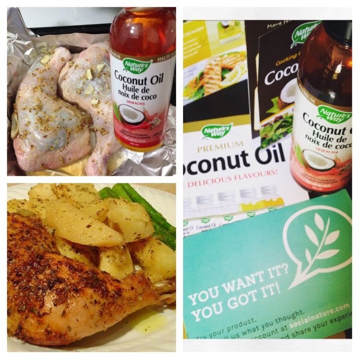 Spiced up my chicken dish w) @natureswaycan sriracha flavoured coconut oil