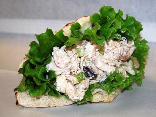 Chicken Salad Pita Bread Sandwiches
