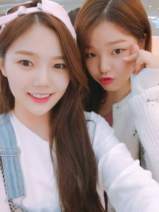 Hyojung and Seunghee