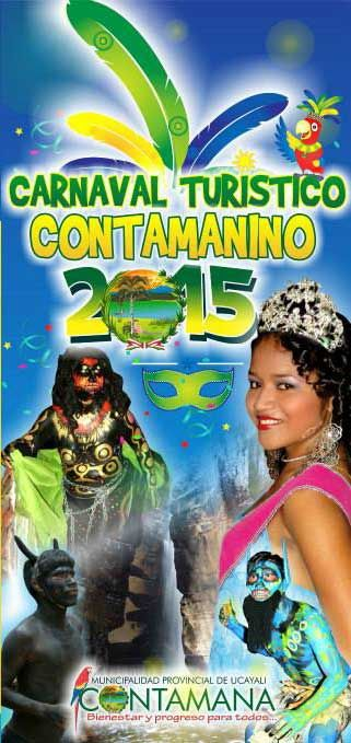 Carnaval Turístico Contamanino 2015