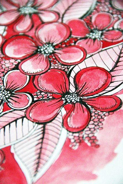 many art journal tutorials  IMG_3059 by mealisab, via Flickr