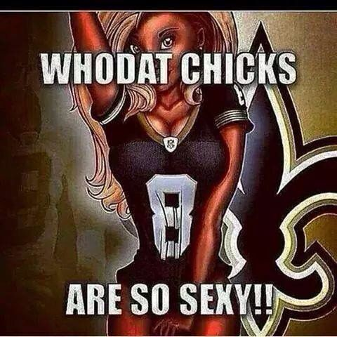 Sexy Who Dat Chicks