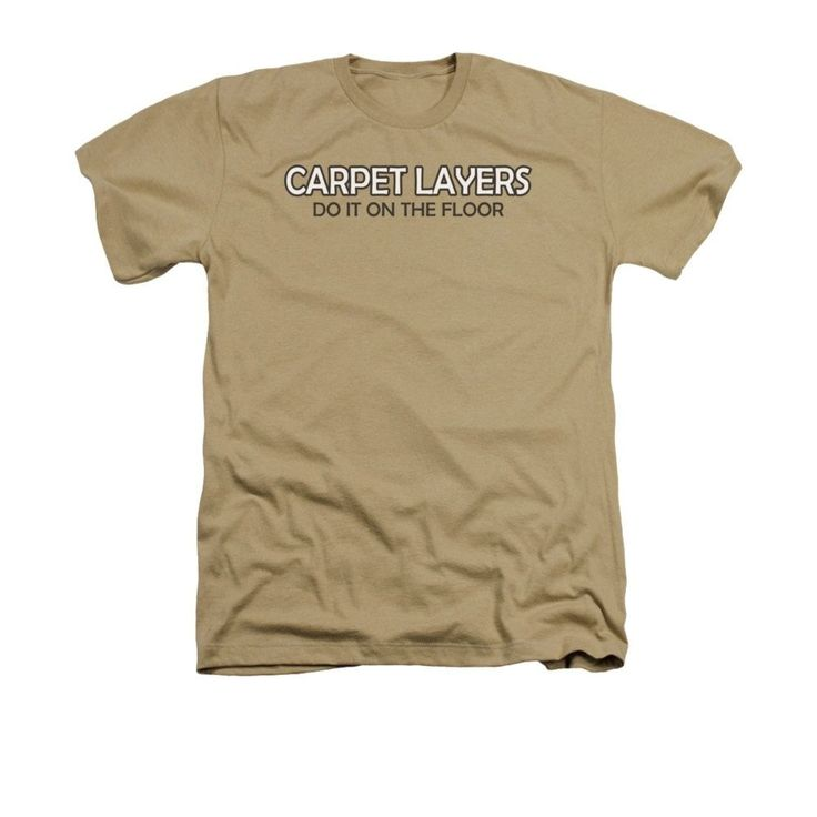 Carpet Layers Adult Regular Fit Heather T-Shirt