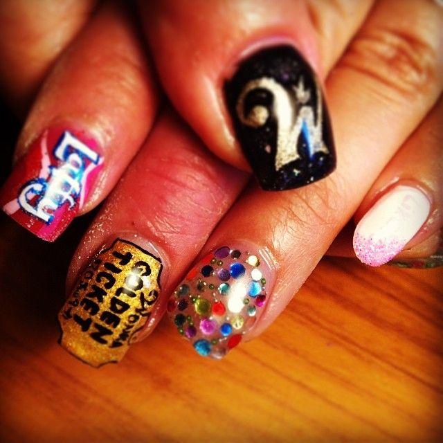 1000+ Images About Pop Culture Nail Art On Pinterest