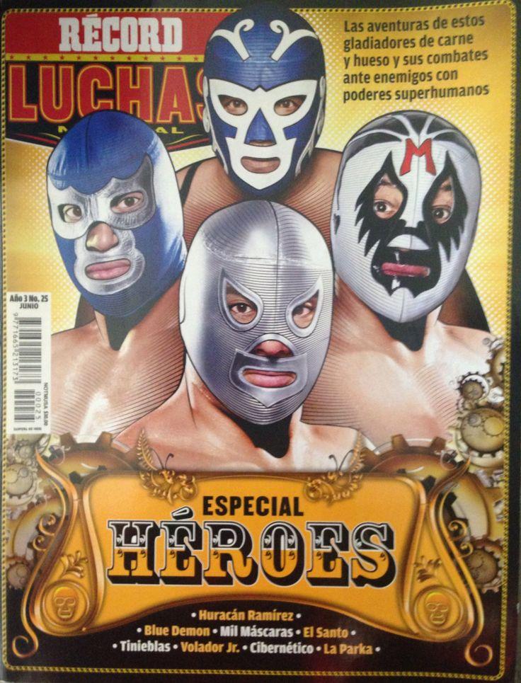 Blue Demon, Huracan Ramirez, Rayo de Jalisco, Santo