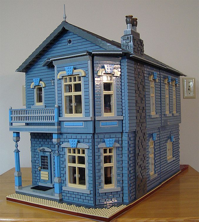 308 Best Images About Lego Houses On Pinterest