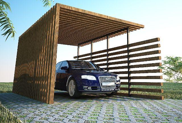 Best Wooden Carport Design Ideas in California