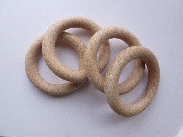 8597 707- blank houten (gordijn) ring 7cm doorsnee | houten (gordijn) ringen | Hof van Gelre kraal totaal