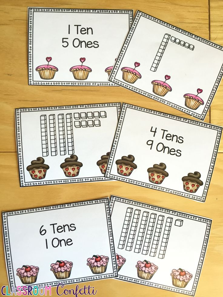 Valentine's Day themed base ten blocks memory. Great for number sense and place value. Plus FREE Valentine's Day and Friendship Day Cards and Notes!