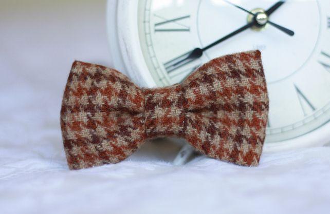 Mens Scottish Tweed Bow Tie £14.99