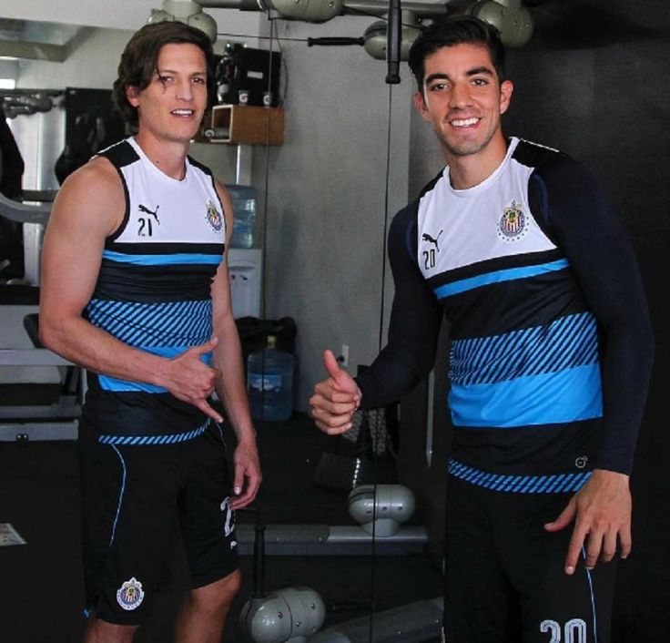 Carlos Fierro y Rodolfo Pizarro