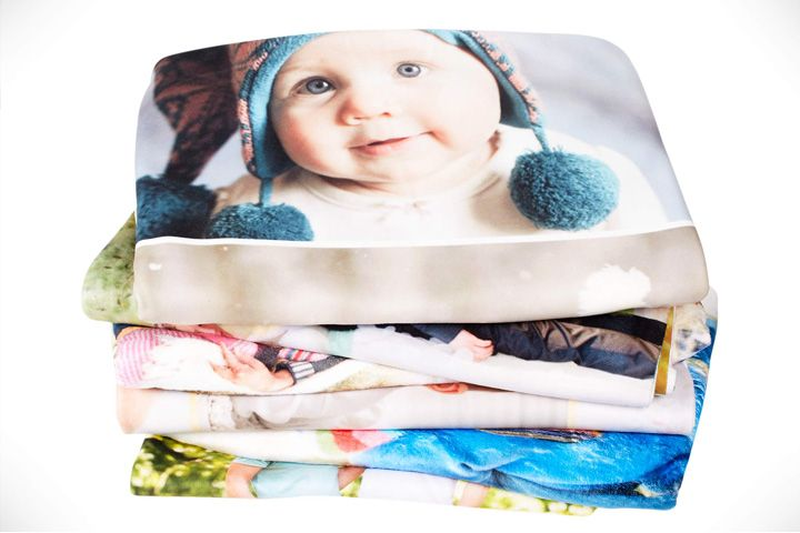Warm, soft, and snuggly Collage.com Photo Blankets