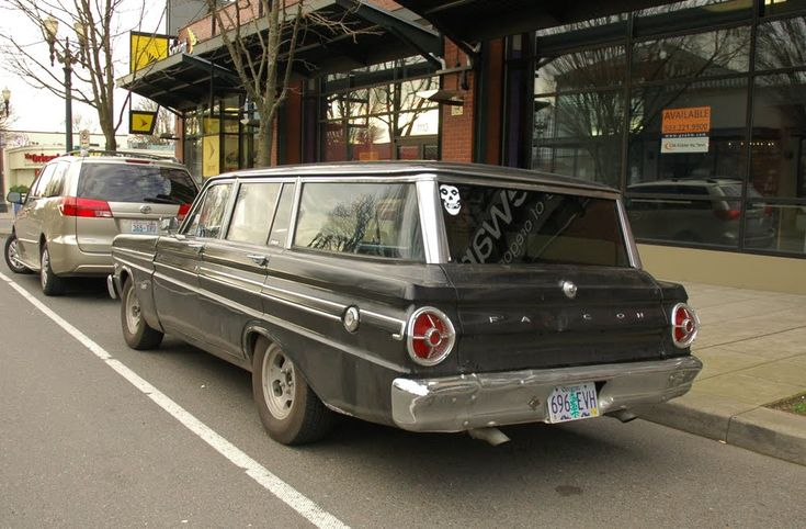 Old Parked Cars.: 1965 Ford Falcon Futura Wagon.: Ford Falcon