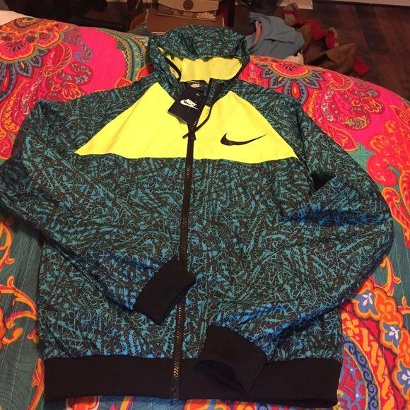 BRAND NEW RARE NIKE RAIN JACKET My FAVORITE jacket I have to sell though. Payed 100 Nike Jackets & Coats